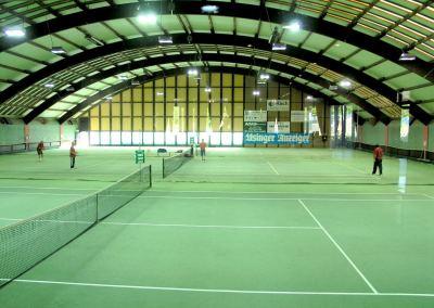 UTHC-Tennishalle-mit-Restaurant-Lounge-Sportsbar Foto