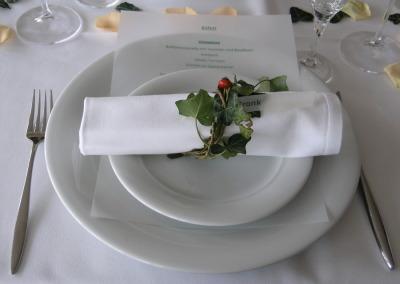 Gut Essen und Trinken in Köhler`s Restaurant der UTHC Tennishalle Usingen