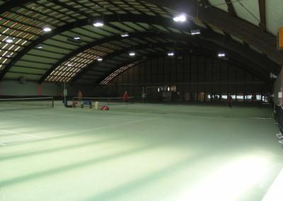 Tennishalle Usingen mit Restaurant, Lounge und Sportsbar - 3 Tennisplätze
