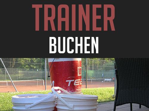 Tennis Trainer buchen