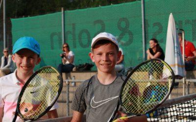 Niklas Baucke und Sergej Topic siegen erneut bei Kreisjugendmeisterschaft