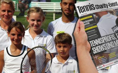 UTHC stellt Tennis Charity-Magazin 2016 vor
