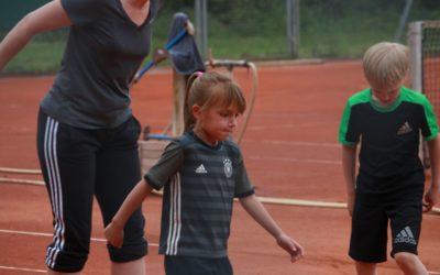 U8 Koordinationstraining – Tennistraining mit Annette Heinemann