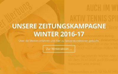 Freie Winterabos der Tennishalle des UTHC 2016-17