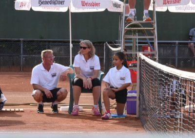 UTHC-Tennis-Charity-Event-2016-Dirk-Rabis-Annette-Heinemann-Ballmaedchen.