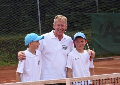 UTHC-Tennis-Charity-Event-2016-Dirk-Rabis-Sergej-Topic-Niklas-Baucke