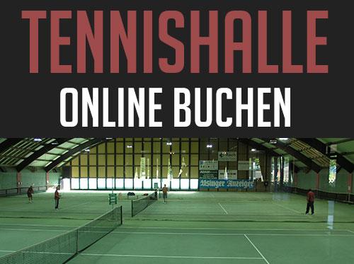 Tennishalle buchen