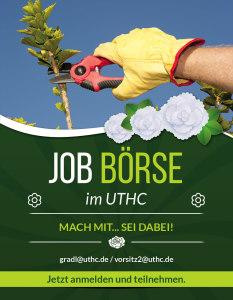 Jobboerse im UTHC-Verein - Info-Flyer