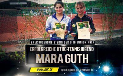 Mara Guth gewinnt souverän die Kreisjugendmeisterschaft der U 16 Juniorinnen