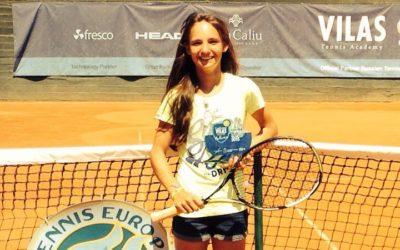 Mara Guth gewinnt das Tennis Europe Turnier in Mallorca