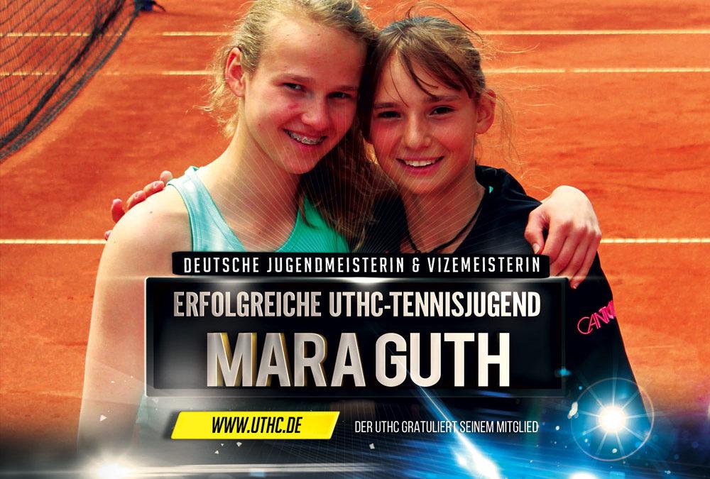 Mara Guth des UTHC erfolgreich bei der Deutschen Jugendmeisterschaft