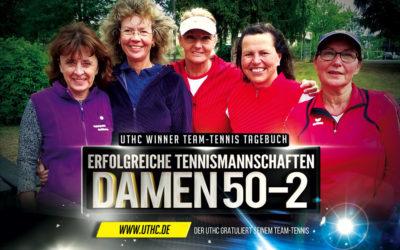 Team-Tennis Damen 50-2 – Klarer Sieg am 4. Spieltag