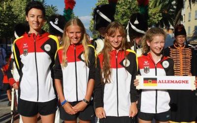 Mara Guth erreicht mit dem Nationalteam den dritten Platz bei den Team-Europameisterschaften