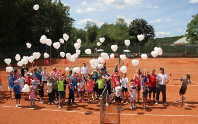 Das Sommerferien Tenniscamp beim UTHC war wieder ein voller Erfolg