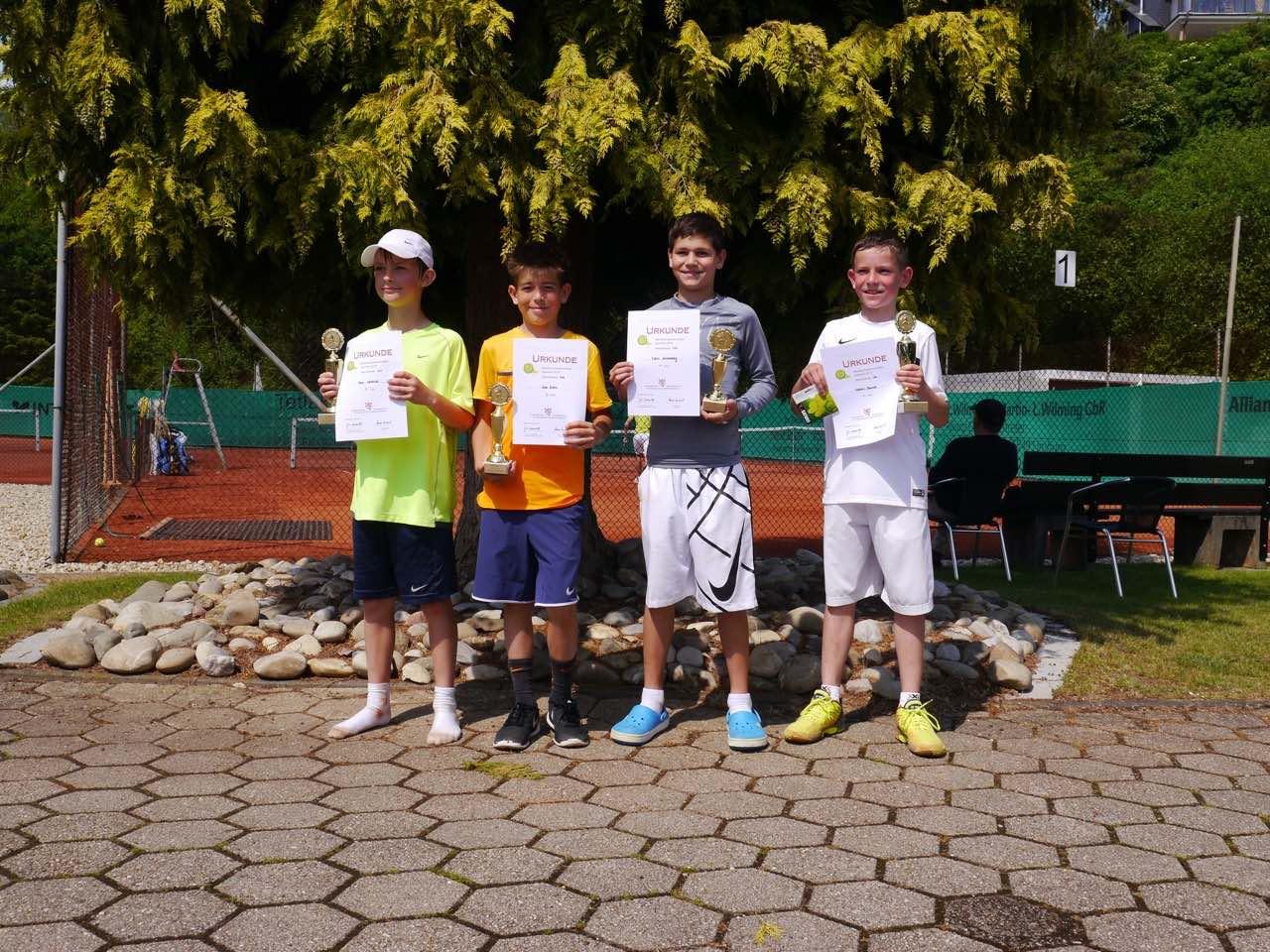 Niklas Baucke des UTHC zum 4. Mal für die Hessenmeisterschaft qualifiziert