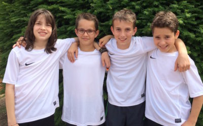 Zweite U12 Mannschaft des UTHC startet erfolgreich in die Medensaison