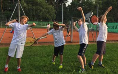 U14 männlich startet souverän in die Medenspielrunde Kreisliga B