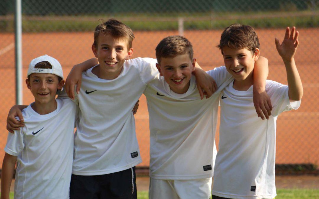 Unerwarteter Aufstieg mit der U12-2 Junioren