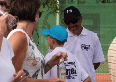 Tennis Cheftrainer des UTHC in Usingen - Carlos Tarantino