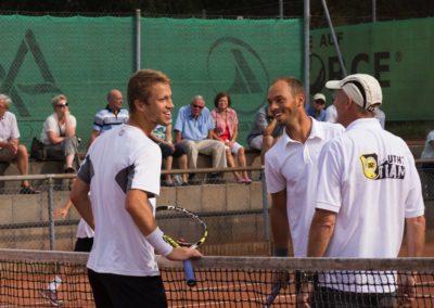 Steven Moneke und Tim Pütz live auf dem Tennis-Campus des UTHC in Usingen