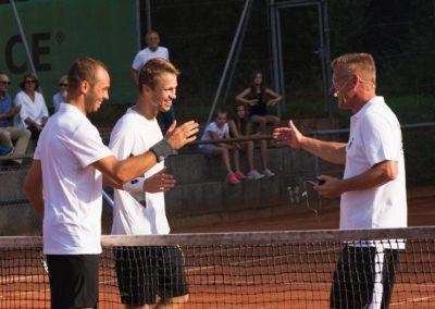 Dirk Rabis, Tim Pütz und Steven Moneke beim UTHC in Usingen