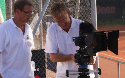 UTHC Tennis-Videos – Videoproduktion künftig mit Profikameras nach TV-Standard