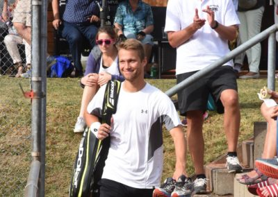 2. Tennis Charity-Event des UTHC in Usingen / Steven Moneke