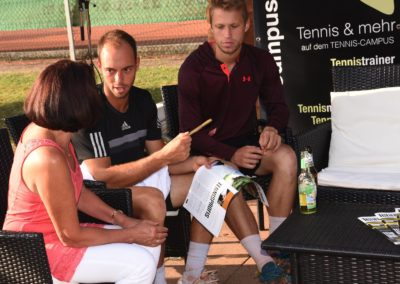UTHC-Tennis-Campus-Autogrammstunde - Tim Pütz