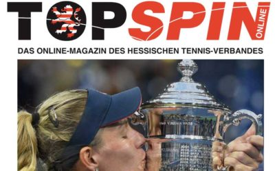 Hessischer Tennisverband berichtet über UTHC-Erfolge im HTV TOPSPIN-Magazin