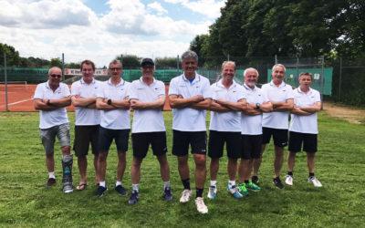 Herren 50-2 sichert sich mit Tabellenführung Aufstieg in die Bezirksliga A