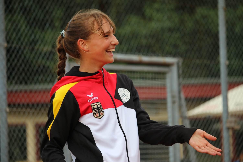 Mara Guth spielt für Deutschland im Team der deutschen Nationalmannschaft