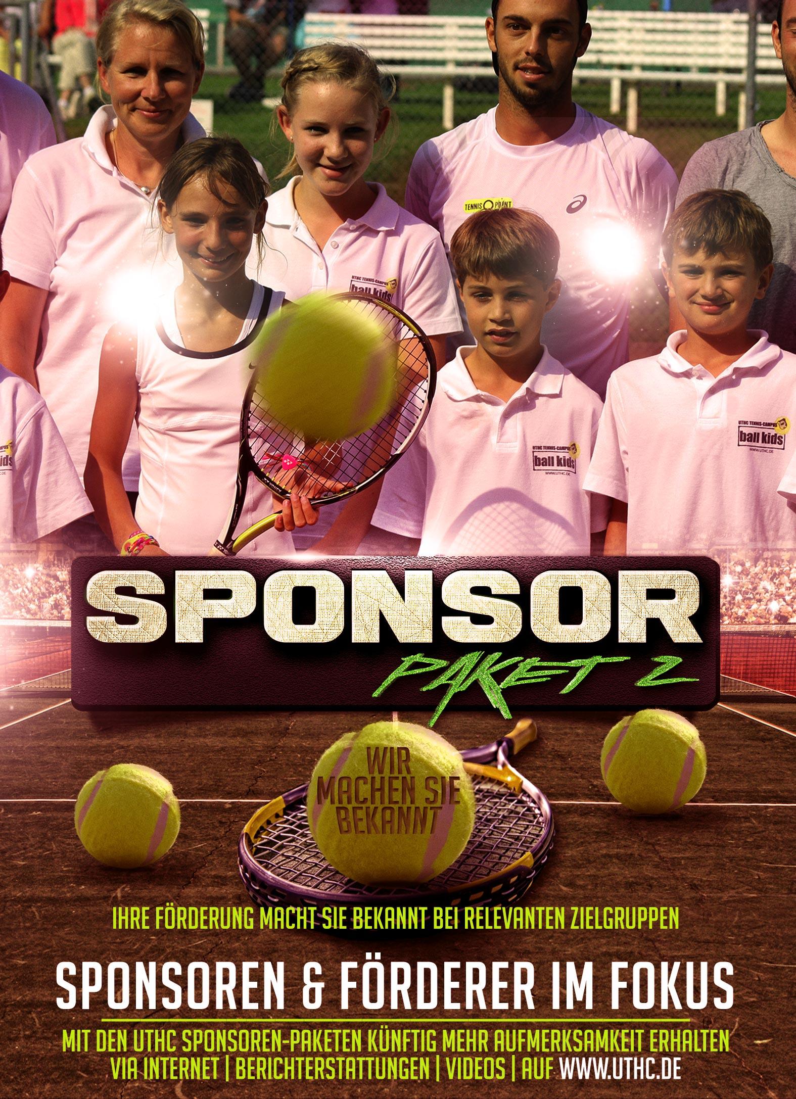 Tennis Sponsoren Paket 2