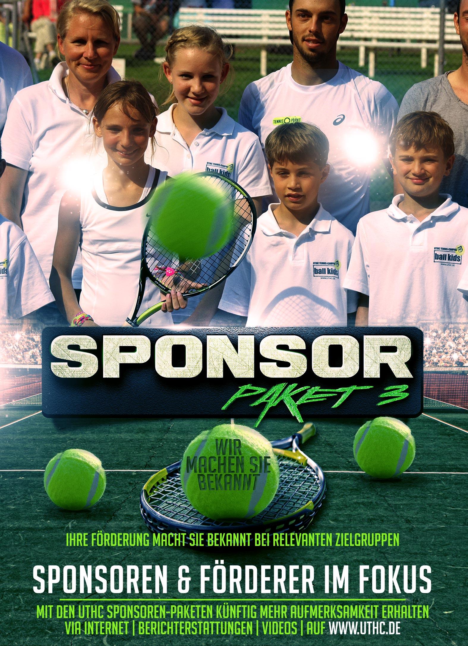 Tennis Sponsoren Paket 3