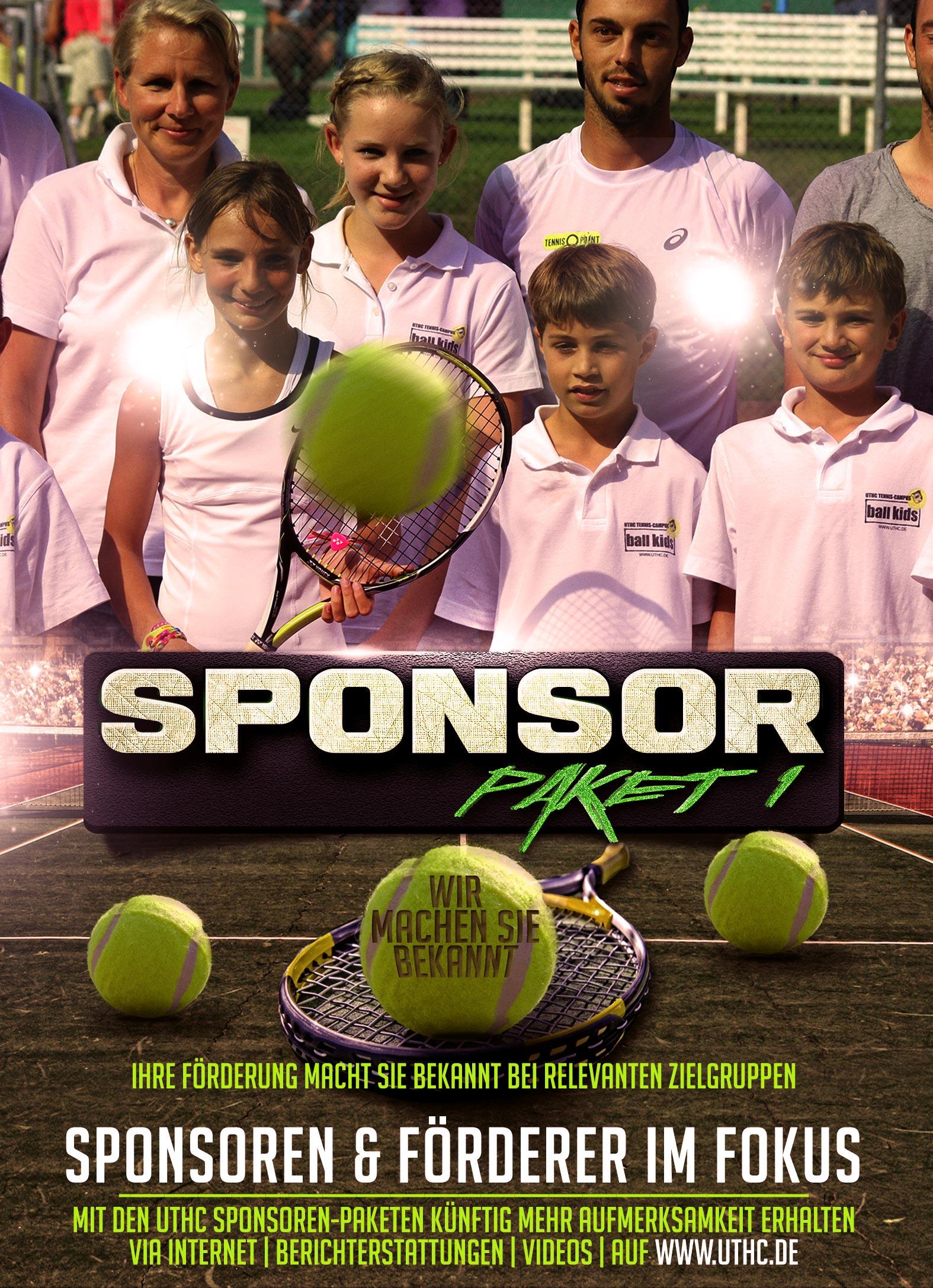 Tennis Sponsoren Paket 1