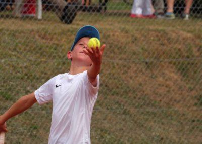 Niklas Bauke. Erfolgreicher Tennisnachwuchs des UTHC