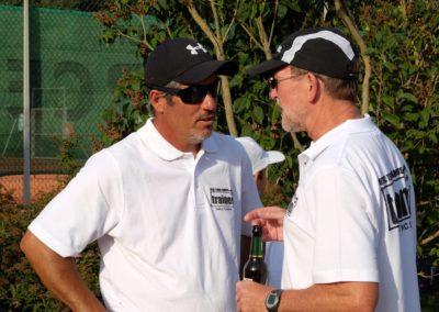 uthc-tennis-charity-event-2016 Carlos Tarantino mit Joe Heinsch