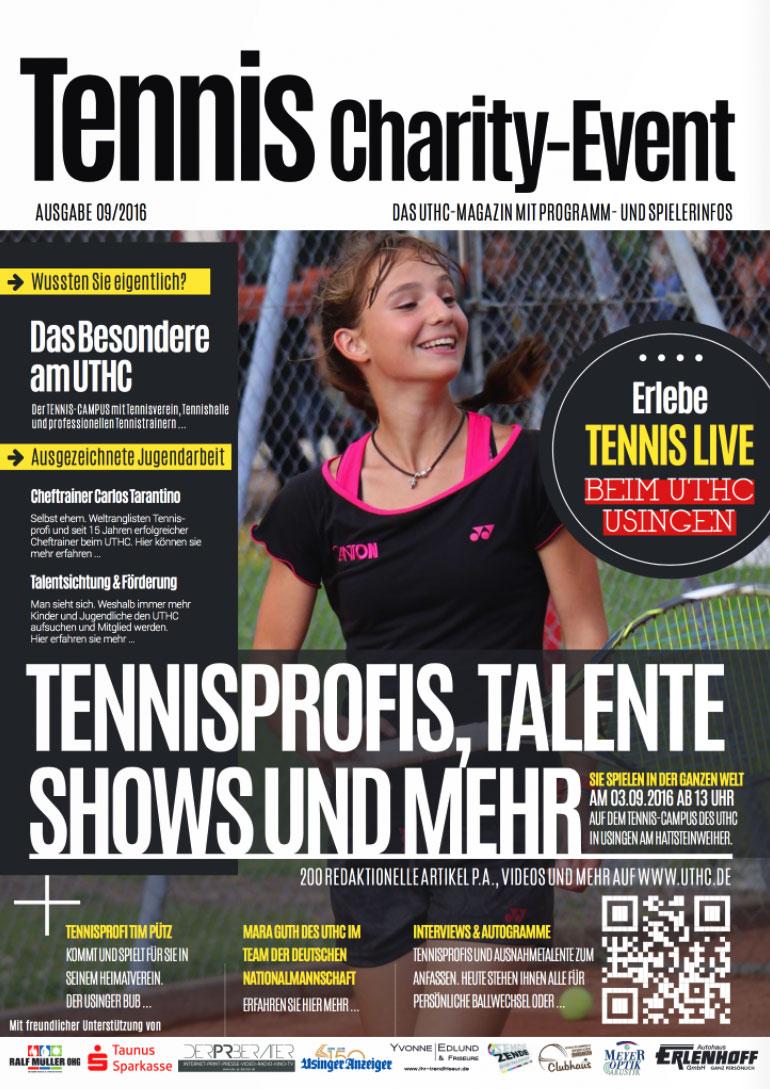 Sponsoring im Tennis. Die Arten und Pakete im Überblick.