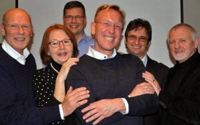 Dirk Rabis einstimmig als 1. Vorsitzender des UTHC gewählt