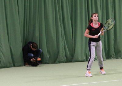 SAT1 Fernsehen. Dreharbeiten auf dem Tennis-Campus des UTHC - Usingen_0418