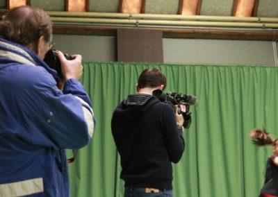 SAT1 Fernsehen beim UTHC. Dreharbeiten in Usingen_0488