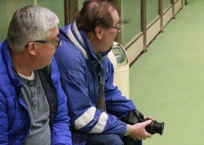 Herr Herr und Dieter Hammerschmied vom Usinger Anzeiger bei SAT1 Dreharbeiten beim UTHC_0501