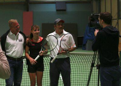 Dirk Rabis, Mara Guth und Carlos Tarantino. SAT1 Fernsehen Reportage_0574