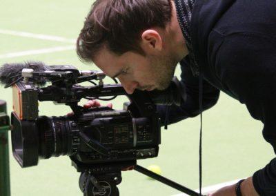 SAT1 Fernsehen beim UTHC. Dreharbeiten in Usingen_0613