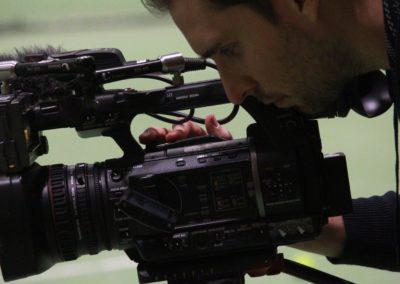 SAT1 Fernsehen beim UTHC. Dreharbeiten in Usingen_0622