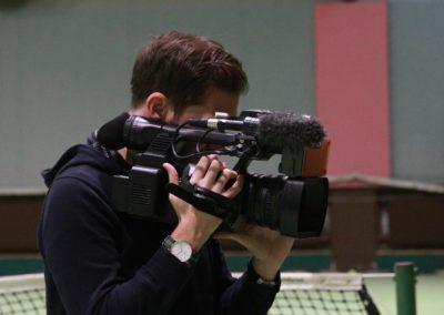 SAT1 Fernsehen beim UTHC. Dreharbeiten in Usingen_0699