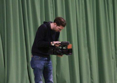SAT1 Fernsehen beim UTHC. Dreharbeiten in Usingen_0767