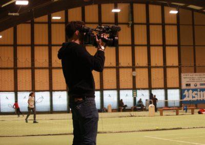 SAT1 Fernsehen beim UTHC. Dreharbeiten in Usingen_0783