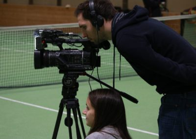 SAT1 Kamera-Team - Dreharbeiten beim UTHC_0961