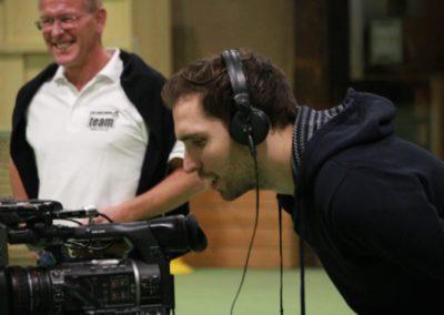 PR Berater Dirk Rabis begleitet Interview mit dem SAT1 Fernsehen - UTHC Tennis-Campus Usingen - Fernsehreportage_0980
