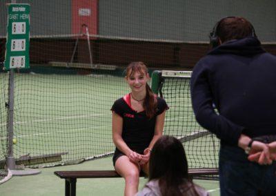 Mara Guth im Interview mit dem SAT1 Fernsehen - UTHC Tennis-Campus Usingen - Fernsehreportage_0984